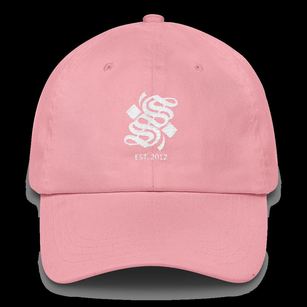 S Logo Dad Hat - Pink