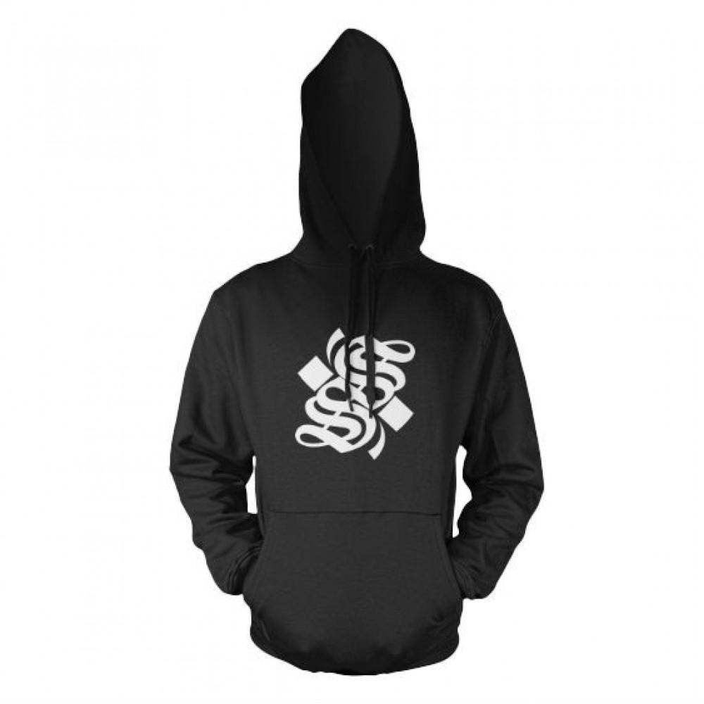 S Logo Hoodie - Black - Smalll