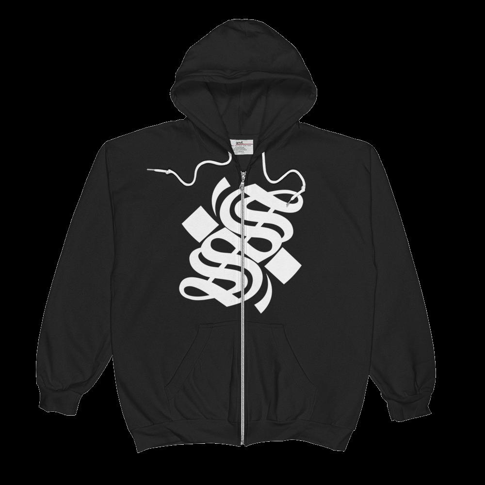 S Logo Full Zip Hoodie - XS