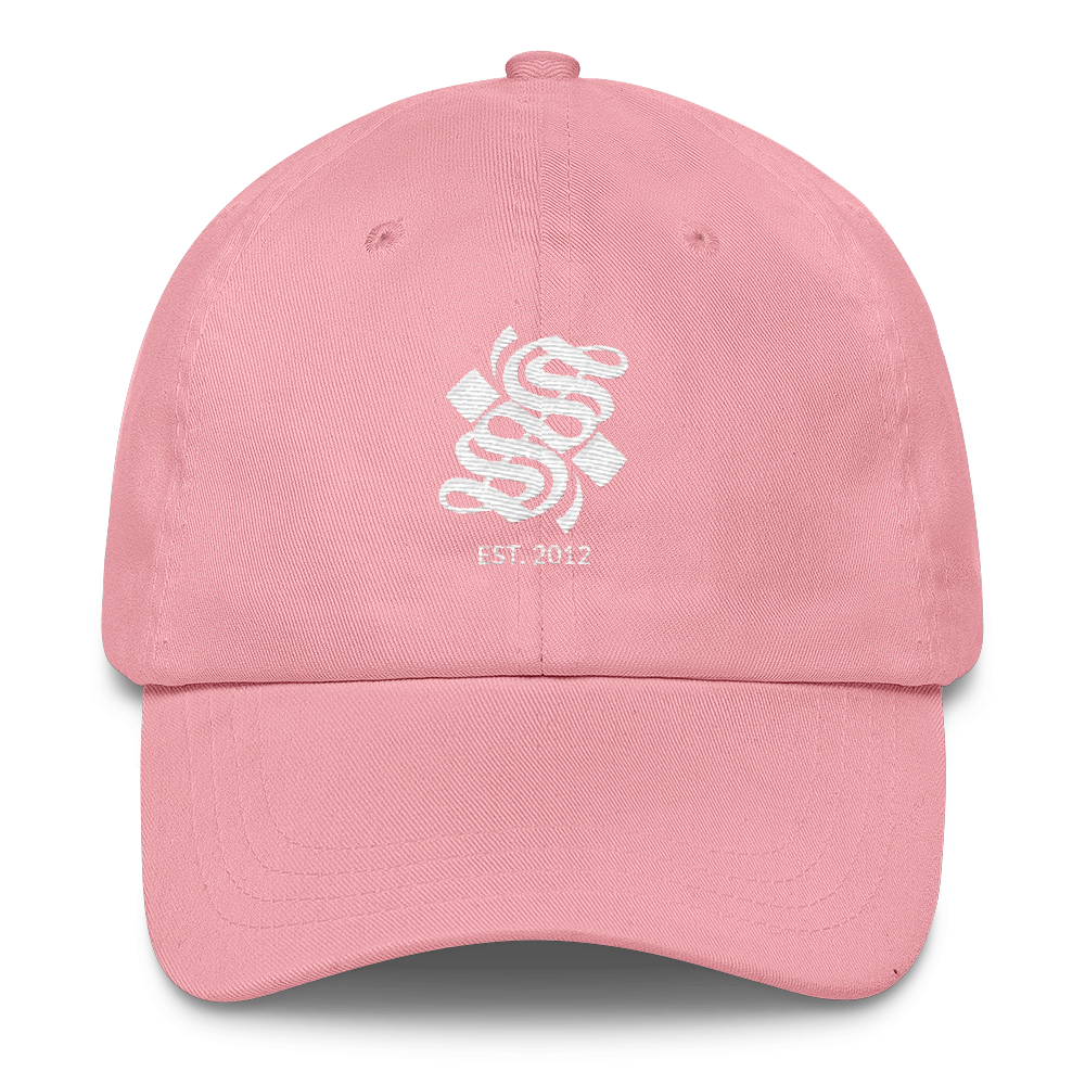 S Logo Dad Hat - Pink